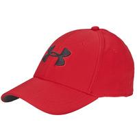 Tekstilni dodatki Moški Kape s šiltom Under Armour UA MEN'S BLITZING 3.0 CAP Rdeča / Črna