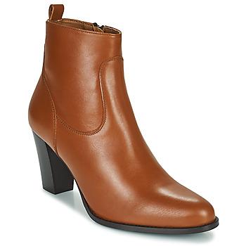 Čevlji  Ženske Gležnjarji Betty London PETRA Cognac