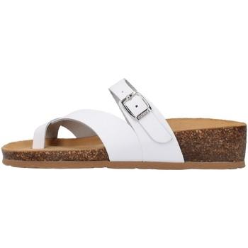 Čevlji  Ženske Natikači Bionatura 12A456 WHITE