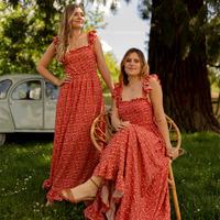 Oblačila Ženske Dolge obleke Céleste AURORE Rdeča