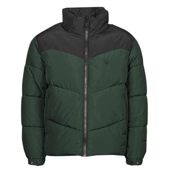 Oblačila Moški Puhovke Volcom GOLDSMOOTH JACKET Zelena / Črna