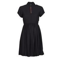 Oblačila Ženske Kratke obleke Volcom DOTSABILLY DRESS Črna