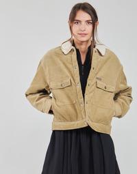 Oblačila Ženske Jakne & Blazerji Volcom WEATON JACKET Bež