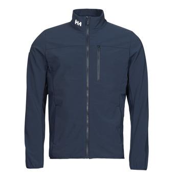 Oblačila Moški Jakne Helly Hansen CREW SOFTSHELL JACKET 2.1 Modra