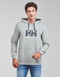 Oblačila Moški Puloverji Helly Hansen HH LOGO HOODIE Siva