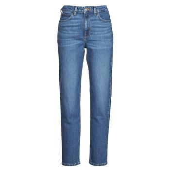 Oblačila Ženske Jeans boyfriend Lee CAROL Modra