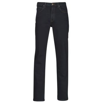 Oblačila Moški Jeans straight Lee BROOKLYN STRAIGHT Modra / Črna