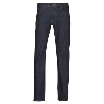 Oblačila Moški Jeans straight Lee DAREN ZIP FLY Modra