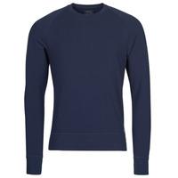 Oblačila Moški Majice z dolgimi rokavi Polo Ralph Lauren LS CREW SLEEP TOP Modra