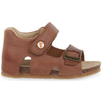Čevlji  Dečki Sandali & Odprti čevlji Naturino FALCOTTO 0D07 BEA CUOIO Marrone