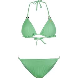 Oblačila Ženske Dvodelne kopalke O'neill Capri Bondey Fixed Set Zelena