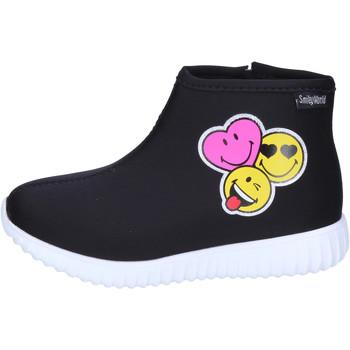Čevlji  Deklice Gležnjarji Smiley  Črna