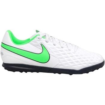 Čevlji  Otroci Nogomet Nike Tiempo Legend 8 Club TF JR Bela