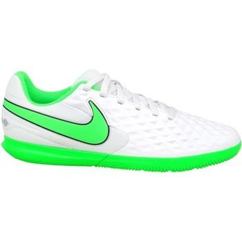 Čevlji  Otroci Nogomet Nike JR Tiempo Legend 8 Club IC Bela