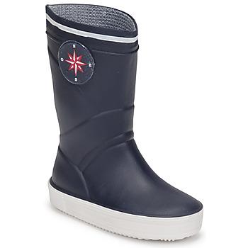Čevlji  Otroci škornji za dež  Citrouille et Compagnie PRADS Modra