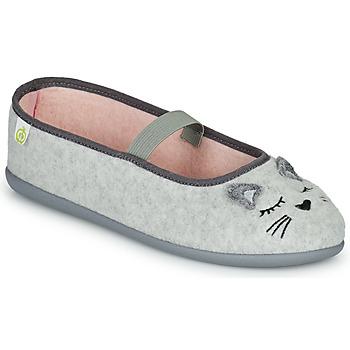 Čevlji  Deklice Nogavice Citrouille et Compagnie PASTALDENTE Siva