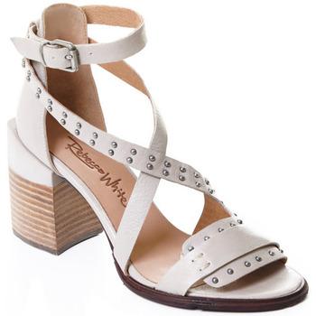 Čevlji  Ženske Salonarji Rebecca White T0501  Rebecca White  D??msk?? sand??ly na vysok??m podpatku z telec??