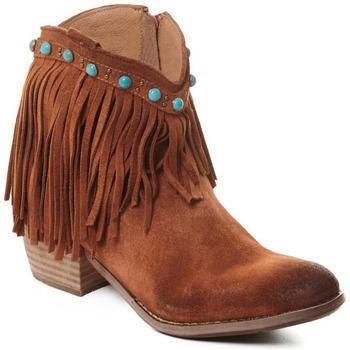 Čevlji  Ženske Gležnjarji Rebecca White T0601A  Rebecca White  D??msk?? ko?en?? kotn??kov?? boty s podpatkem v