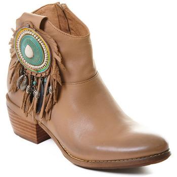Čevlji  Ženske Gležnjarji Rebecca White T0605  Rebecca White  D??msk?? ko?en?? kotn??kov?? boty s blokov?m pod