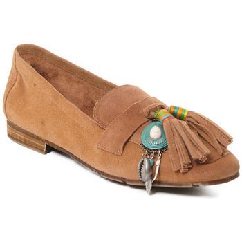 Čevlji  Ženske Mokasini Rebecca White T3506 Bež