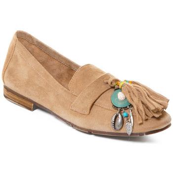 Čevlji  Ženske Mokasini Rebecca White T3506 Kostanjeva