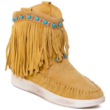 Čevlji  Ženske Gležnjarji Rebecca White T6016 Rumena