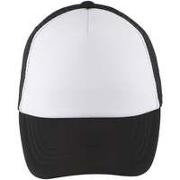 Tekstilni dodatki Kape s šiltom Sols BUBBLE KIDS Blanco Negro Negro