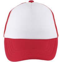 Tekstilni dodatki Kape s šiltom Sols BUBBLE KIDS Blanco Rojo Rojo