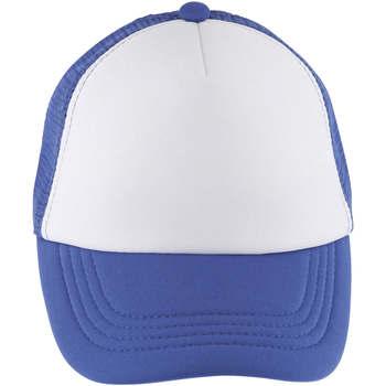 Tekstilni dodatki Kape s šiltom Sols BUBBLE KIDS Blanco Azul Royal Azul
