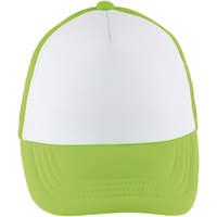 Tekstilni dodatki Kape s šiltom Sols BUBBLE KIDS Blanco Verde Neon Verde