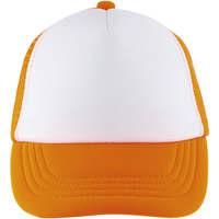 Tekstilni dodatki Kape s šiltom Sols BUBBLE KIDS Blanco Naranja Fluor Naranja