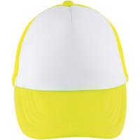 Tekstilni dodatki Kape s šiltom Sols BUBBLE KIDS Blanco Amarillo Neon Amarillo