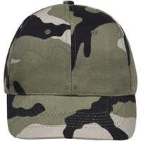 Tekstilni dodatki Kape s šiltom Sols BUFFALO Camo Multicolor