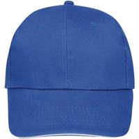 Tekstilni dodatki Kape s šiltom Sols BUFFALO Azul Royal Blanco Multicolor