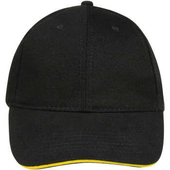 Tekstilni dodatki Kape s šiltom Sols BUFFALO Negro Amarillo Multicolor