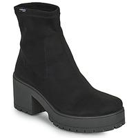 Čevlji  Ženske Mestni škornji    Victoria ATALAIA CHELSEA Črna