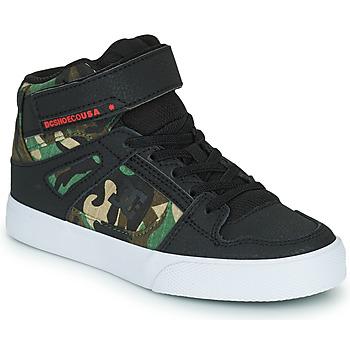 Čevlji  Dečki Visoke superge DC Shoes PURE HIGH-TOP EV Črna / Maskovací