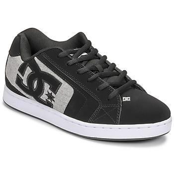Čevlji  Moški Skate čevlji DC Shoes NET Črna / Siva