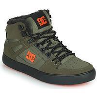 Čevlji  Moški Visoke superge DC Shoes PURE HIGH-TOP WC WNT Kaki / Črna