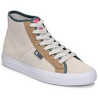 Čevlji  Ženske Visoke superge DC Shoes MANUAL HI SE Bež