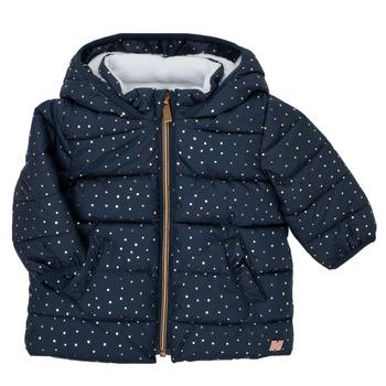 Oblačila Deklice Puhovke Carrément Beau AIGUE-MARINE Modra
