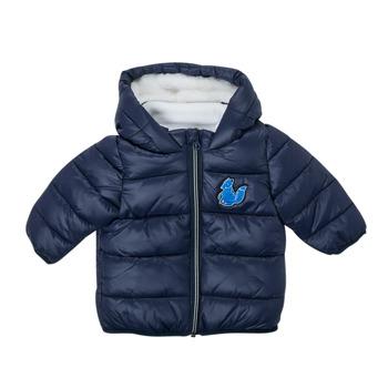 Oblačila Dečki Puhovke Carrément Beau AMANDE Modra