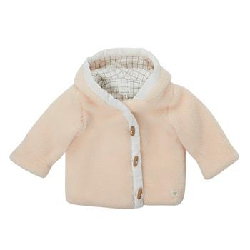 Oblačila Dečki Plašči Carrément Beau AMARANTE Bela