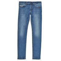 Oblačila Dečki Jeans skinny Diesel SLEENKER Modra