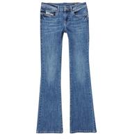 Oblačila Deklice Kavbojke bootcut Diesel LOWLEEH Modra