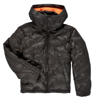 Oblačila Dečki Puhovke Diesel JTHERMO Črna