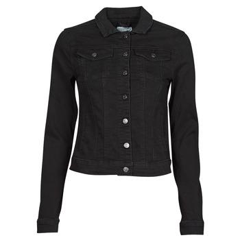 Oblačila Ženske Jeans jakne Vila VISHOW Črna