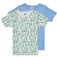 Oblačila Dečki Majice s kratkimi rokavi Petit Bateau LOLITA Večbarvna
