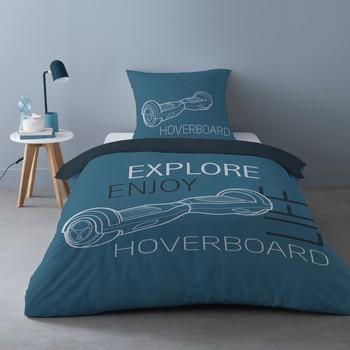 Dom Kompleti posteljnine Mylittleplace HOVER Modra