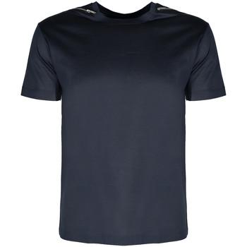 Oblačila Moški Majice s kratkimi rokavi Les Hommes  Modra